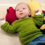 Gratis baby strikkeopskrifter
