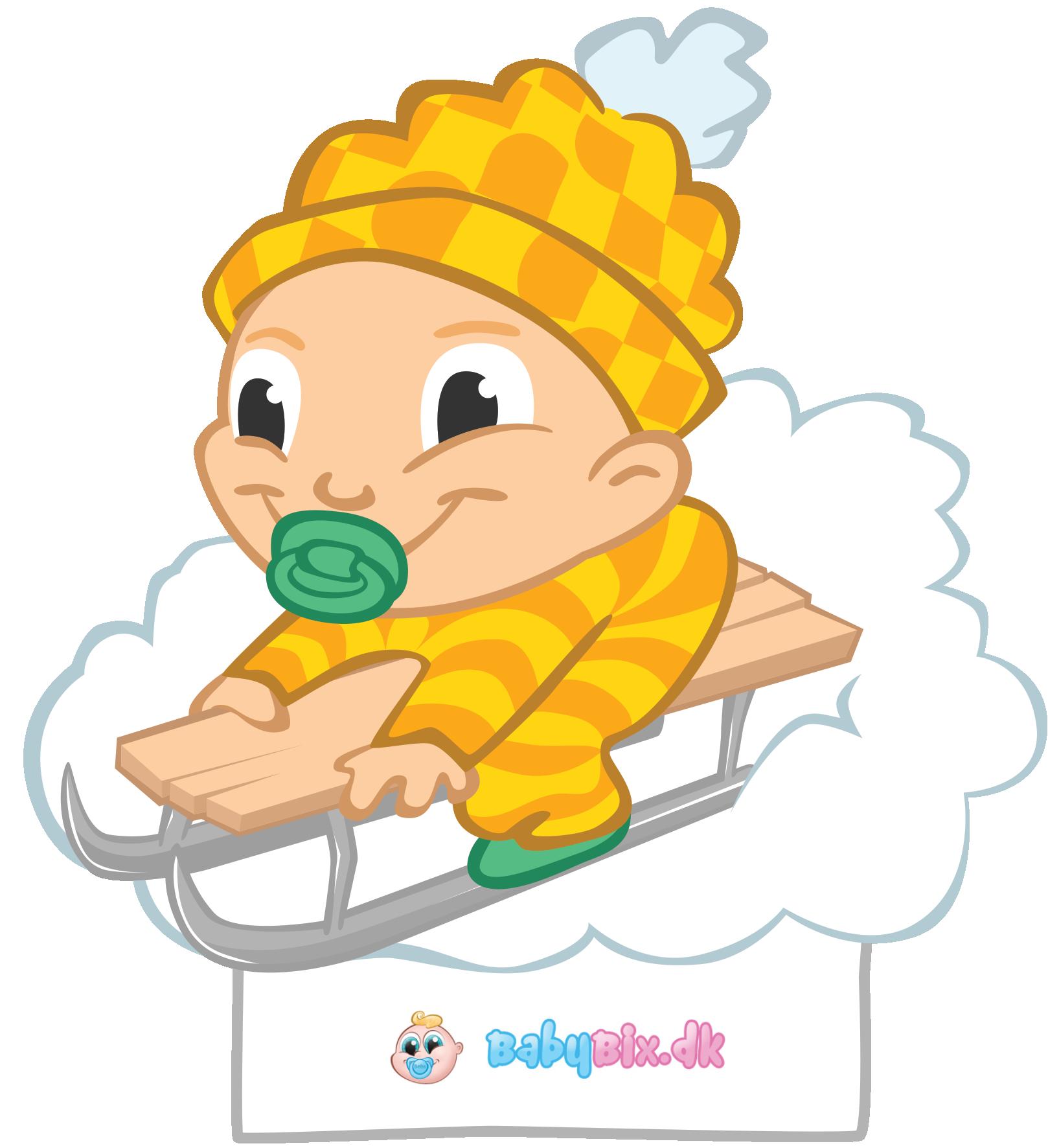Baby kravlenisse til at printe ud