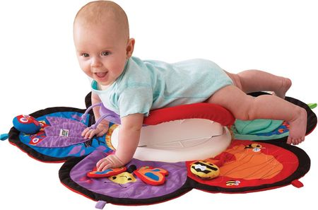 Sådan lærer du din baby at kravle